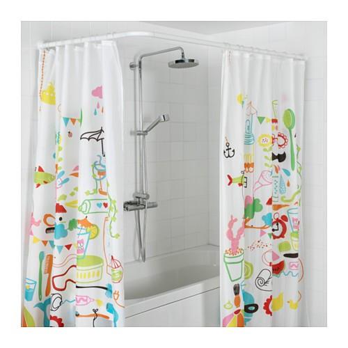 میله پرده حمام uشکل  ترفند های انتخاب پرده مناسب برای پذیرایی و آشپزخانه منزل و خانه و تصویر و عکس پرده
