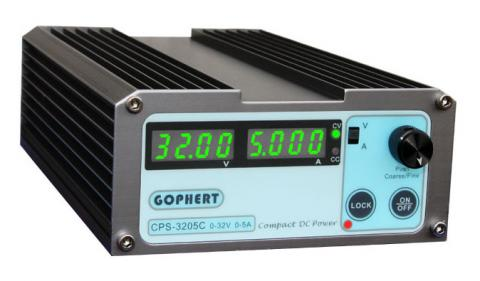 3205C فروش منبع تغذیه آزمایشگاهی سوئیچینگ 0 تا 32 ولت 5 آمپر