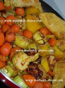 a morgh wa sabzijat 224x300 لیست انواع غذاها انواع خورش و خوراک ایرانی